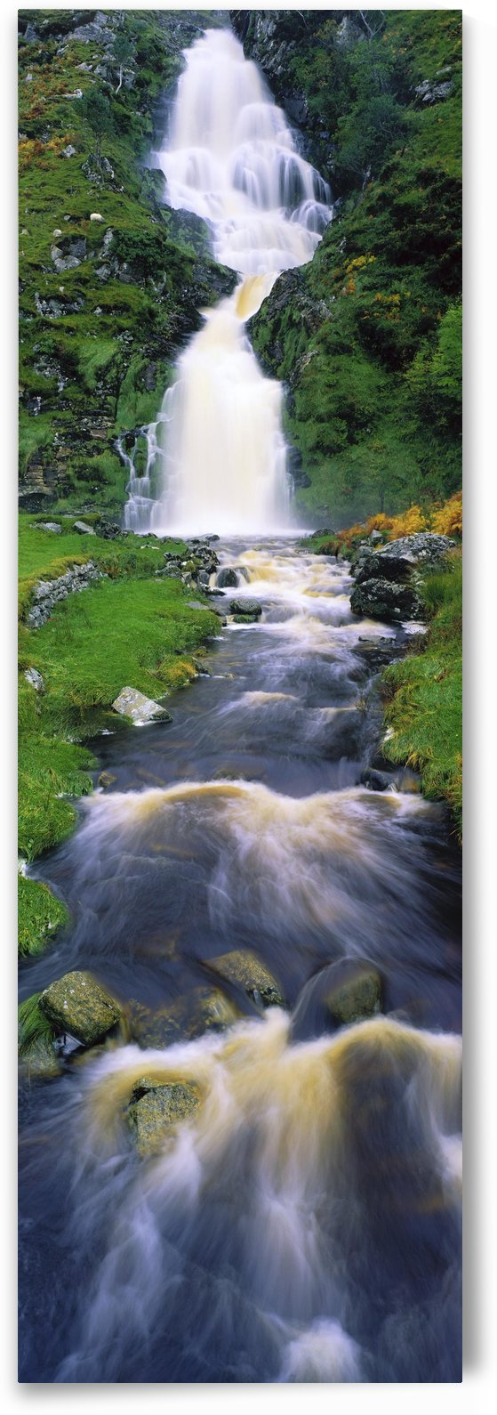 Ardara, Co Donegal, Ireland; Waterfall by PacificStock