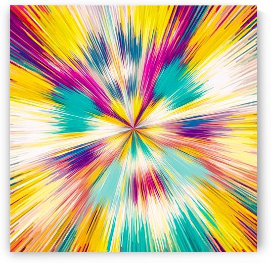 pink yellow blue purple line pattern abstract background by TimmyLA