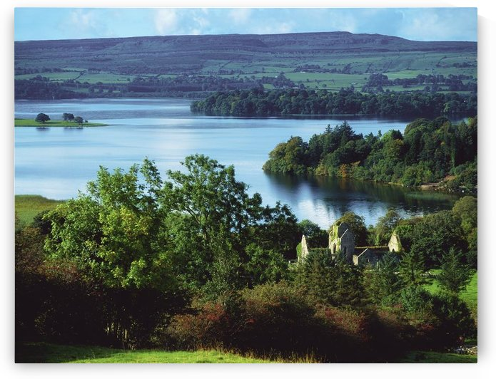 Ballindoon Abbey, Lough Arrow, County Sligo, Ireland; Lakefront Historic Abbey by PacificStock
