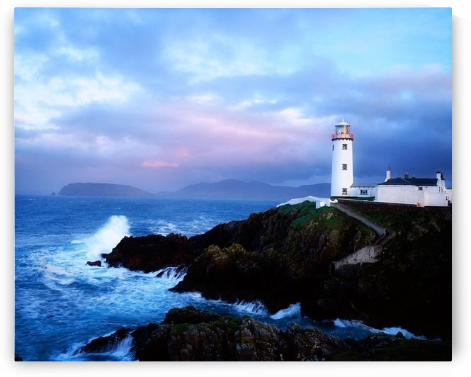 Lighthouse At Fanad Head, Co Donegal, Ireland by PacificStock