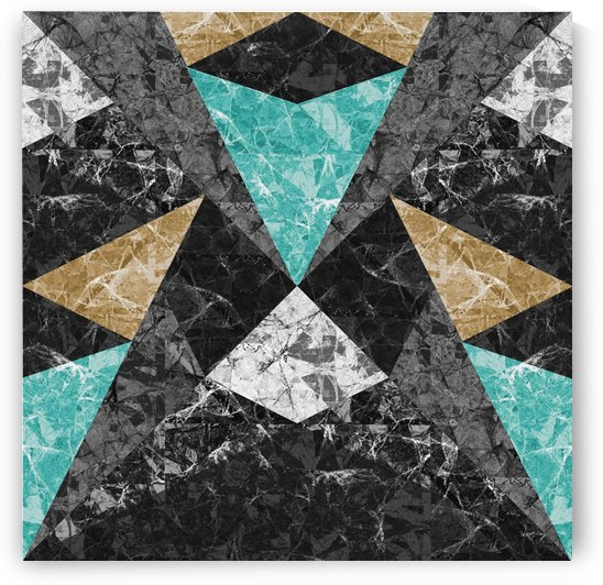 Marble Geometric Background G430 by Medusa GraphicArt
