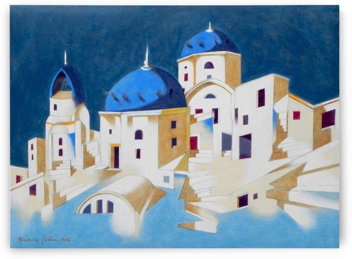 Memory of Santorini by federicocortese
