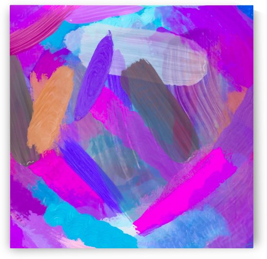 pink brown purple blue painting abstract background by TimmyLA