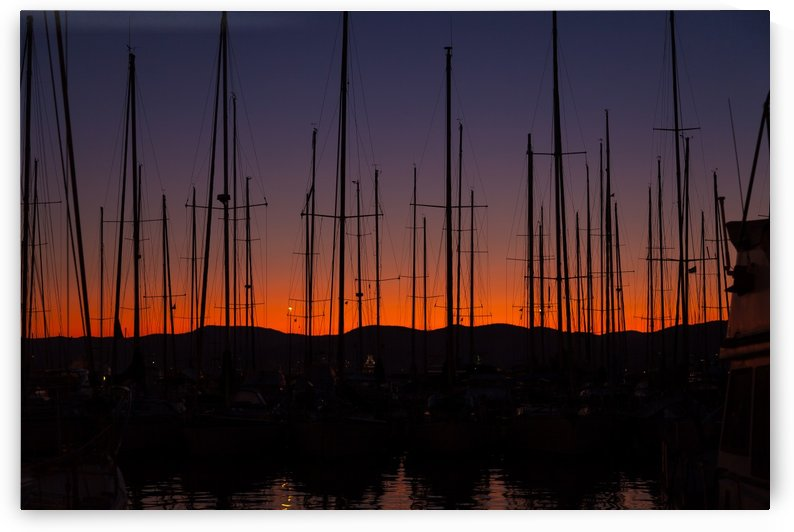 Saint Tropez Sunset by Pixelme ca