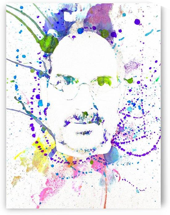 Steve Jobs Fine Art Portrait 1 copy by Pixelme ca