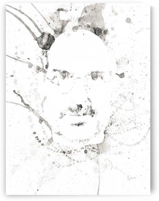 Steve Jobs Fine Art Portrait 2 by Pixelme ca