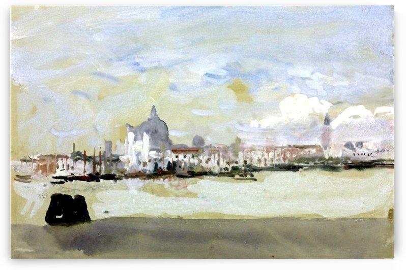 Fondamenta della Salute, Venice by Hercules Brabazon Brabazon