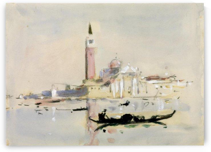 Scene in Venice by Hercules Brabazon Brabazon