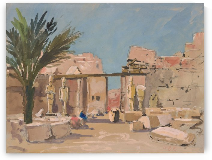 Luxor by Hercules Brabazon Brabazon