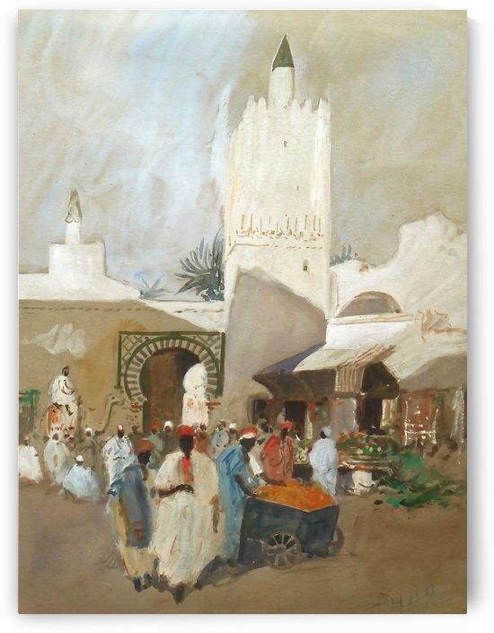 Moroccan Souk by Hercules Brabazon Brabazon