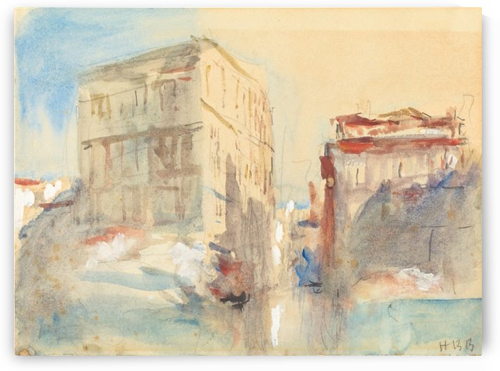 Palaces on the Grand Canal in Venice by Hercules Brabazon Brabazon