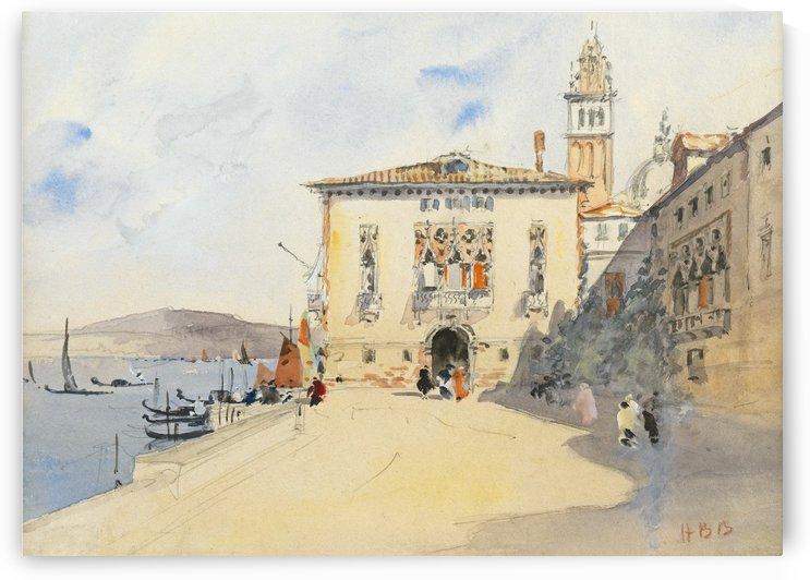 Murano, near Venice by Hercules Brabazon Brabazon