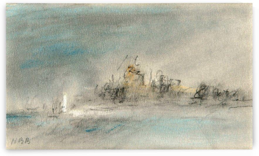 Storm over Venice by Hercules Brabazon Brabazon