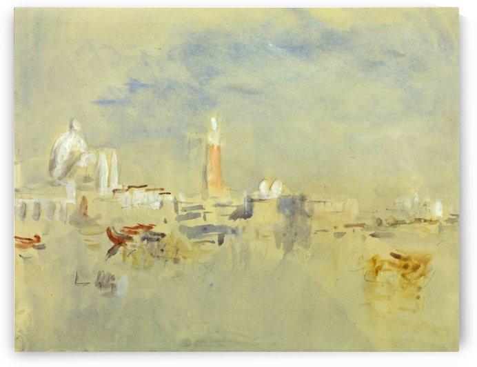 Venice, the Salute by Hercules Brabazon Brabazon