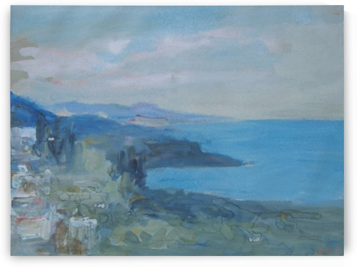 On the Riviera, France by Hercules Brabazon Brabazon