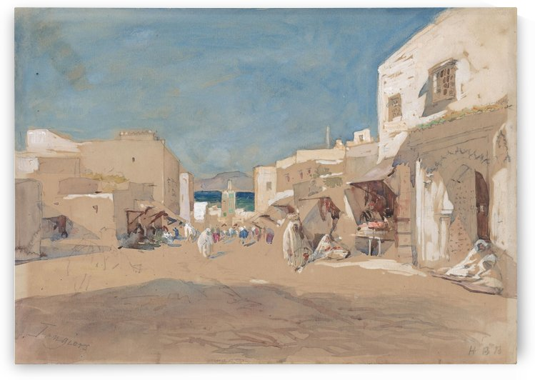 Tangiers by Hercules Brabazon Brabazon
