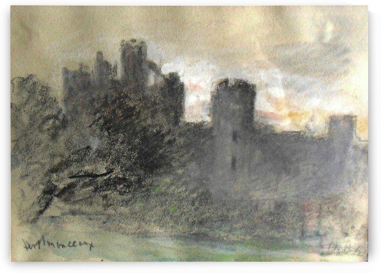 Herstmonceaux Castle, Sussex by Hercules Brabazon Brabazon