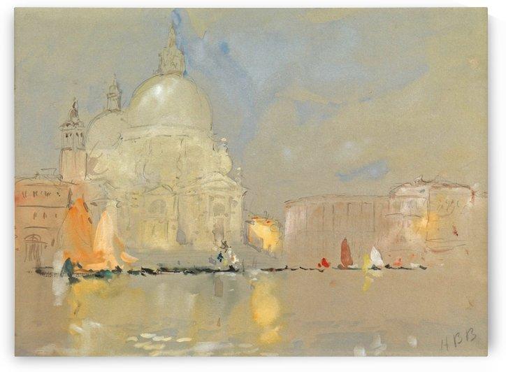 Santa Maria della Salute, Venice by Hercules Brabazon Brabazon