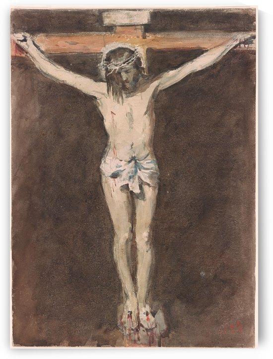 Christ on the Cross by Hercules Brabazon Brabazon