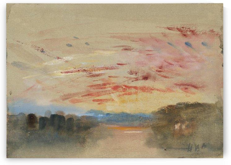 Sunset by Hercules Brabazon Brabazon