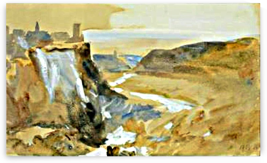 View of Tivoli by Hercules Brabazon Brabazon