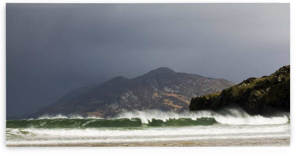 Portsalon, County Donegal, Ireland; Wave Breaking On Shore by PacificStock
