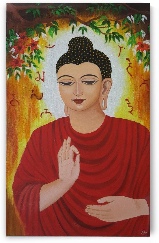 Buddha by Asha
