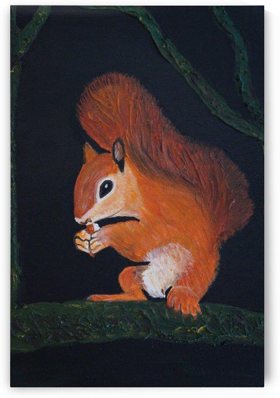 Eichhörnchen  by Babetts Bildergalerie