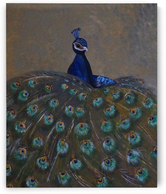 großer pfau  - peacock by Babetts Bildergalerie
