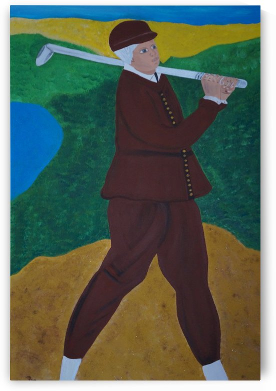 Golf players by Babetts Bildergalerie