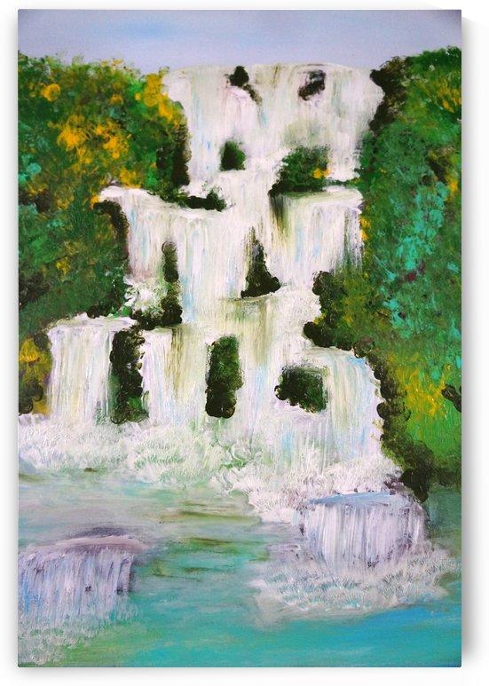 waterfall by Babetts Bildergalerie
