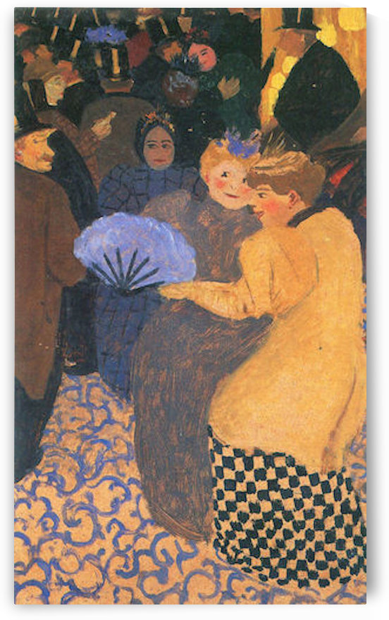 In the music hall by Felix Vallotton by Felix Vallotton