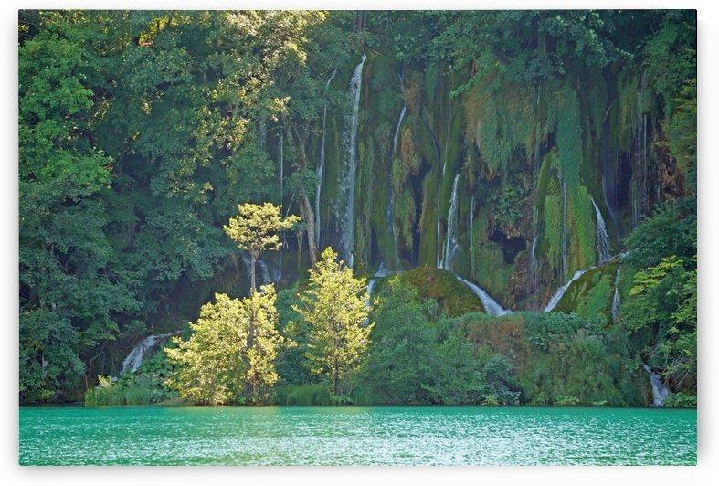 waterfall - Plitvicer lakes-nationalpark by Babetts Bildergalerie