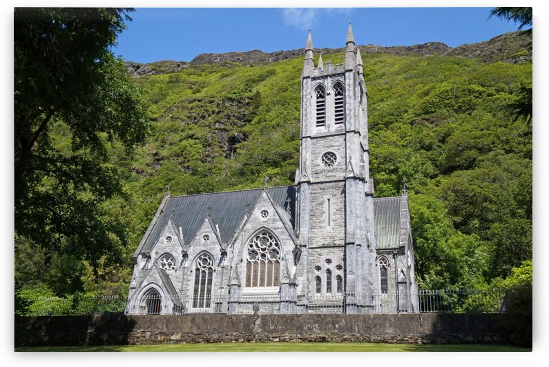 Church at Kylemore Abbey by Babetts Bildergalerie