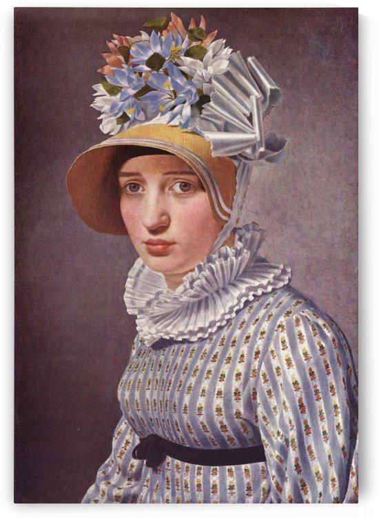Portrait of Anna Maria Magnani, 1814 by Christoffer Wilhelm Eckersberg