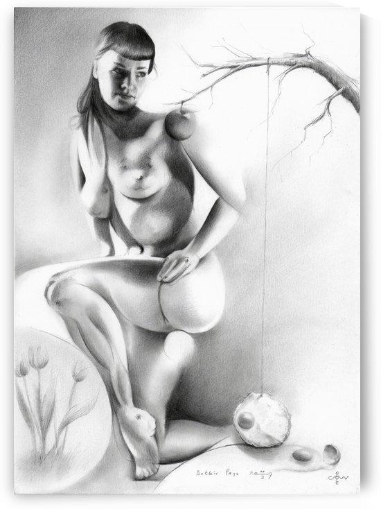 Bettie Page - 24-02-17 by Corné Akkers