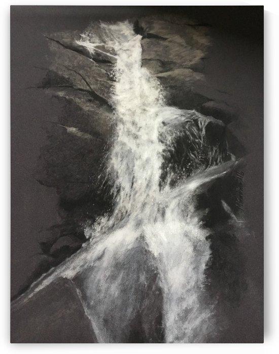 Yosemite Waterfall by Monika Stattner
