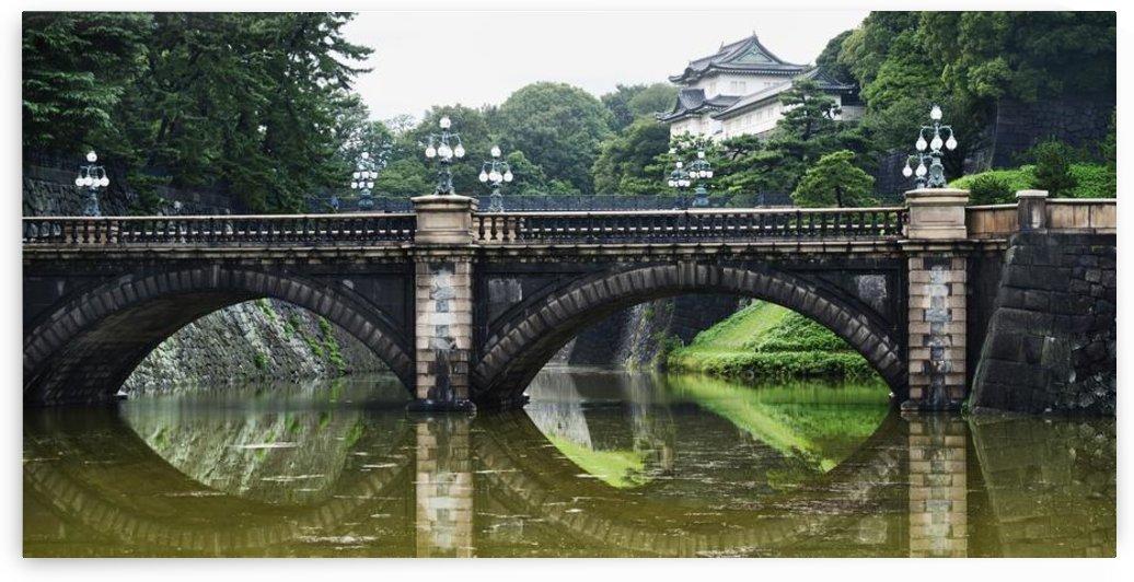 Nijubashi Bridge At Imperial Palace; Tokyo, Japan by PacificStock