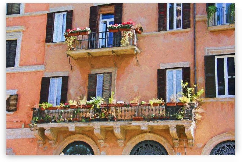 balcon fleuri by dbriyul