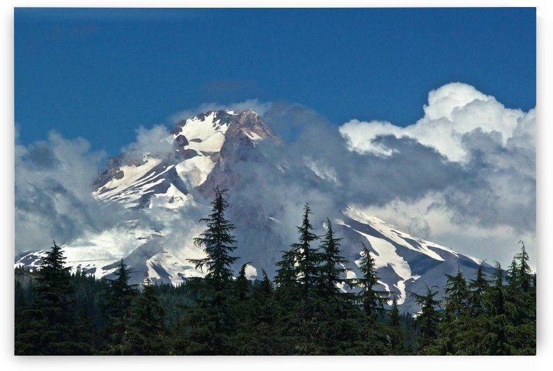 Clouded Peak-Mt Hood by Craig Nowell Stott