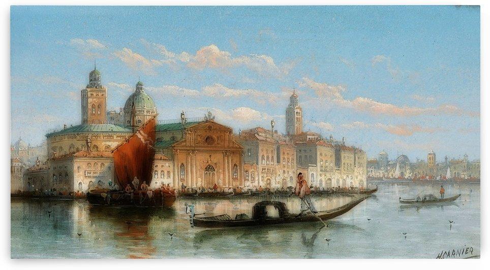 The Harbour of Venice by Karl Kaufmann
