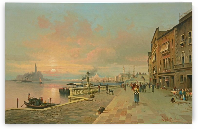 A View of Venice by Karl Kaufmann