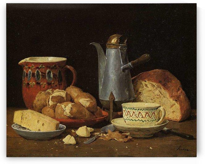 Kaffee Milch by Anker Albert