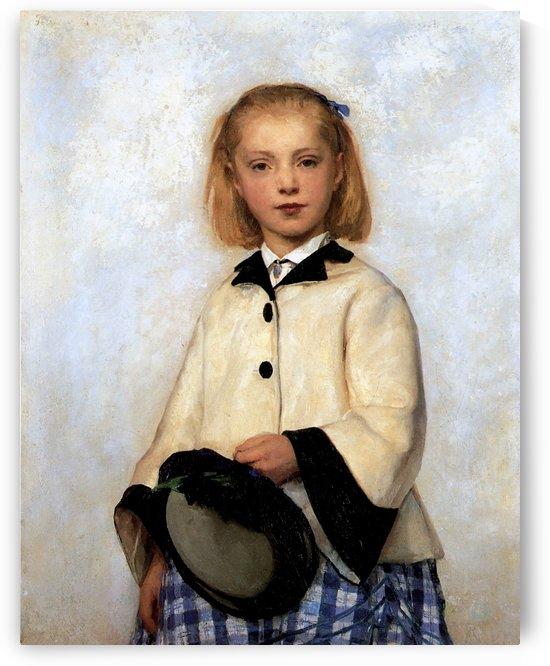 The artists daughter Sun by Anker Albert