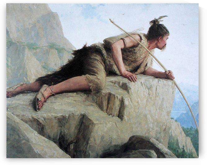 Der Pfahlbauer, 1886 by Anker Albert