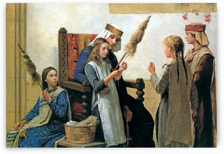 Making yarn by Anker Albert