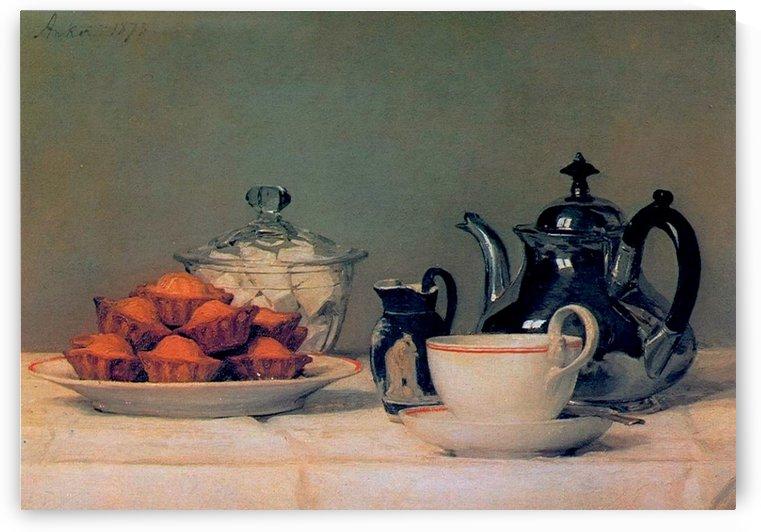 Tee und Schmelzbrotchen by Anker Albert