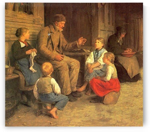 Storyteller by Anker Albert