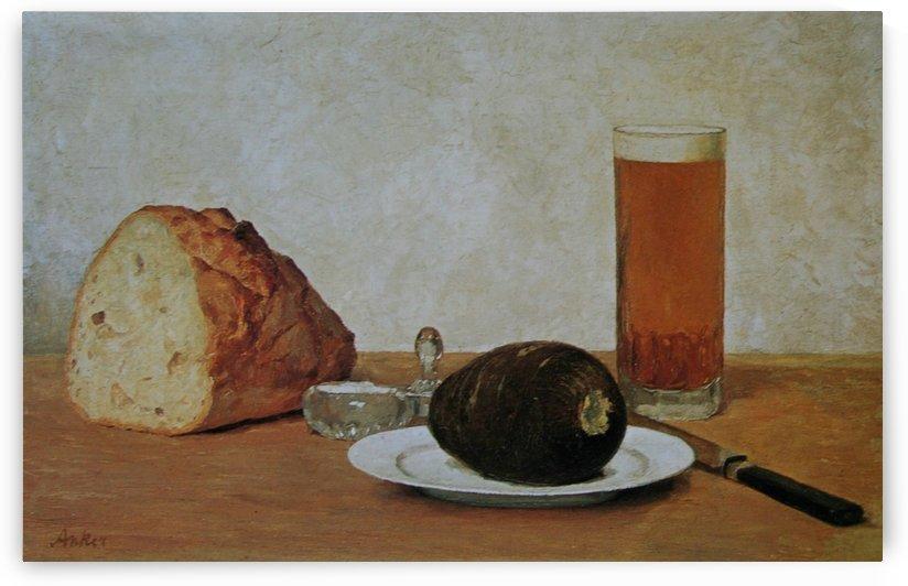 Bier und Rettich 1898 by Anker Albert