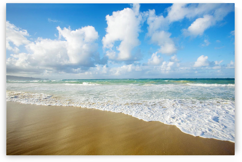 USA, Hawaii Islands, Maui, Sea with clouds; Baldwin Beach by PacificStock